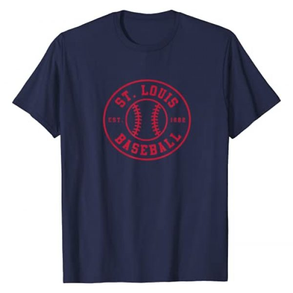 Home Run Tees Graphic Tshirt 1 St. Louis Baseball | Seventh Inning Stretch Gameday Fan Gear T-Shirt