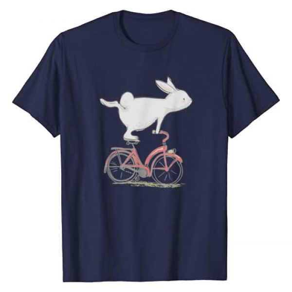 Sassy Southern Charm & Grace Graphic Tshirt 1 Cute Bunny Rabbit On Bike   Cycling   Bicycle T-Shirt & Gift