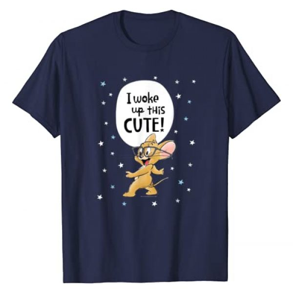 TOM and JERRY Graphic Tshirt 1 I Woke Up This Cute! T-Shirt