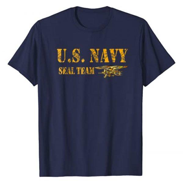 U.S. Navy Graphic Tshirt 1 SEAL TEAM ORIGINAL LOGO T-SHIRT