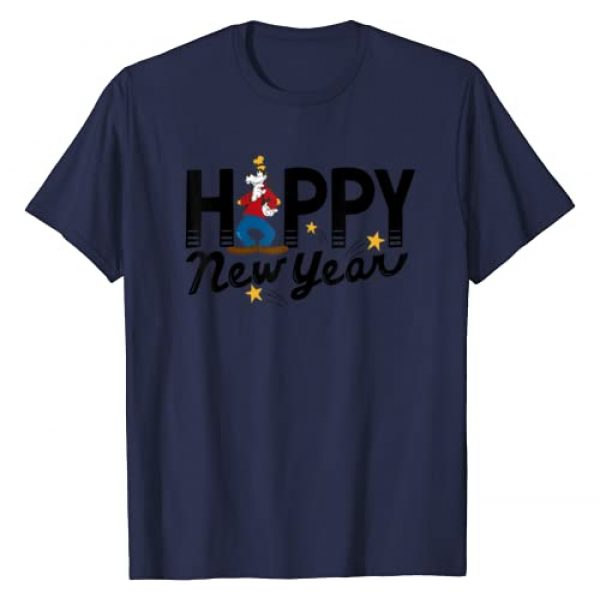Disney Graphic Tshirt 1 Vintage Goofy Happy New Year T-Shirt