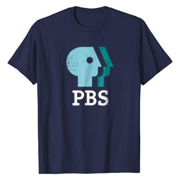 PBS Graphic Tshirt 1 Sky, Mint, Pistachio Distressed Logo