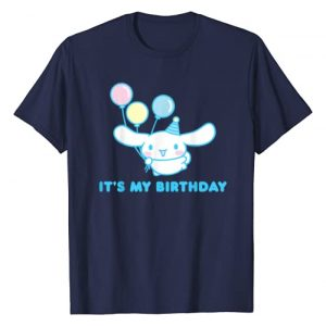 SANRIO Graphic Tshirt 1 Cinnamoroll It's my Birthday T-Shirt
