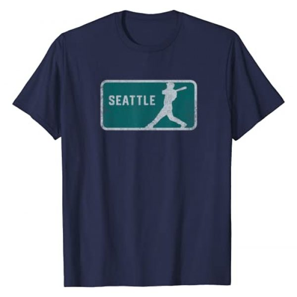 Tout Wear Seattle Graphic Tshirt 1 Vintage Seattle Baseball Player Retro SEA Hitter T-Shirt