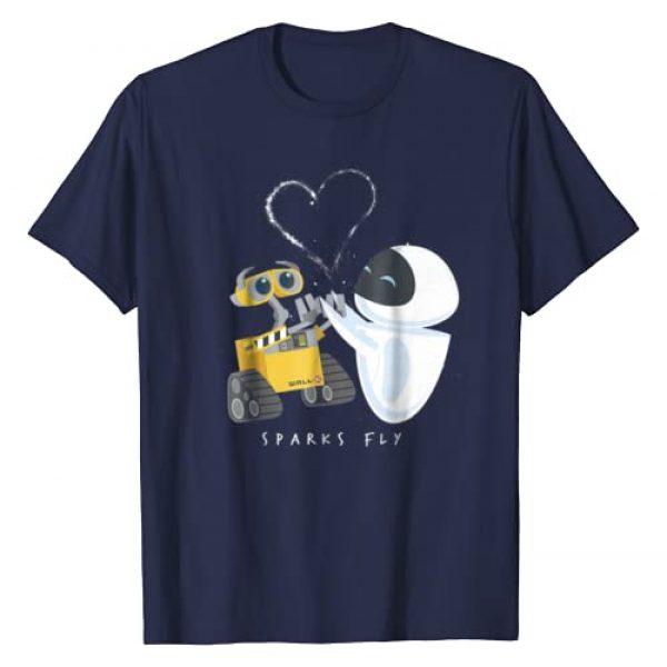 Disney Graphic Tshirt 1 Pixar Wall-E Eve Heart Sparks Fly T-Shirt