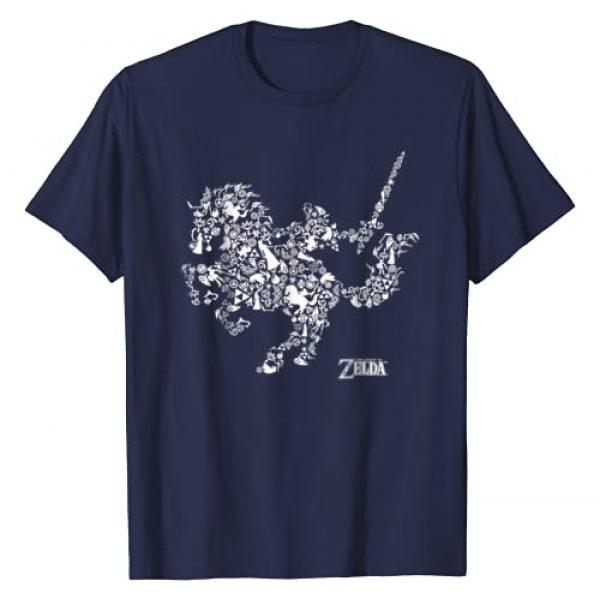 Nintendo The Legend Of Zelda Graphic Tshirt 1 Nintendo Legend Of Zelda Horse Symbols Graphic T-Shirt