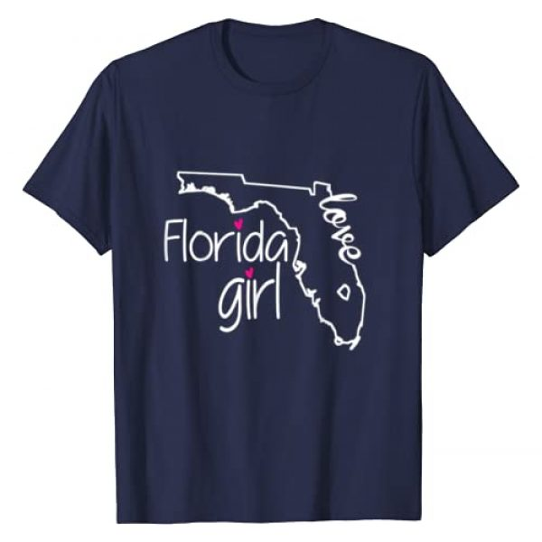 VISHTEA Graphic Tshirt 1 Florida Girl Tshirt I Love Florida Home Tee Florida Gift