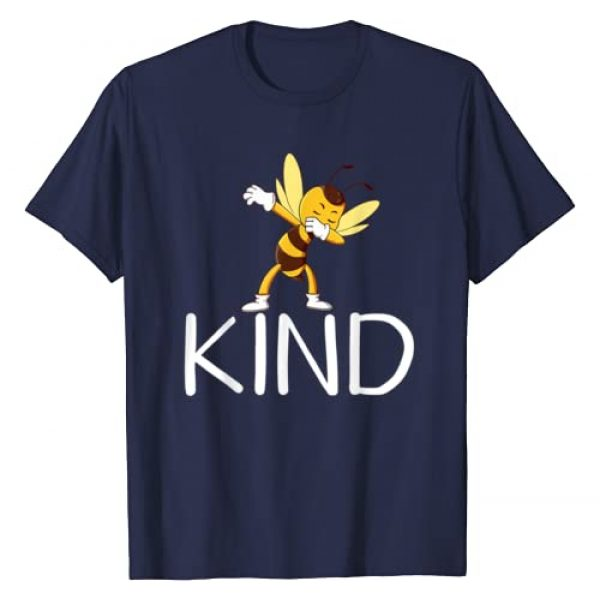 KIND IS THE NEW COOL TEE Graphic Tshirt 1 Be Kind Bee Dabbing Kindness Gift for Men Women Kid Boy Girl T-Shirt