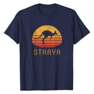 Australia Retro T-Shirt Co. Graphic Tshirt 1 Australia Straya Retro Gift Vintage Kangaroo Outback Aussie T-Shirt