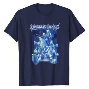 Disney Graphic Tshirt 1 Kingdom Hearts Blue Crew T-shirt