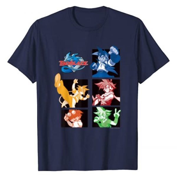 BEYBLADE Graphic Tshirt 1 GENERATON 1 BLADEBREAKERS MONO DARK T-Shirt