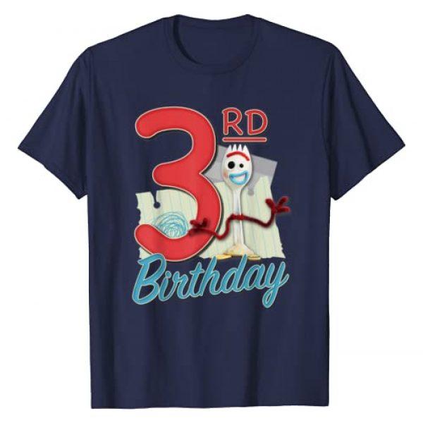 Disney Graphic Tshirt 1 Pixar Toy Story 4 Forky 3rd Birthday T-Shirt