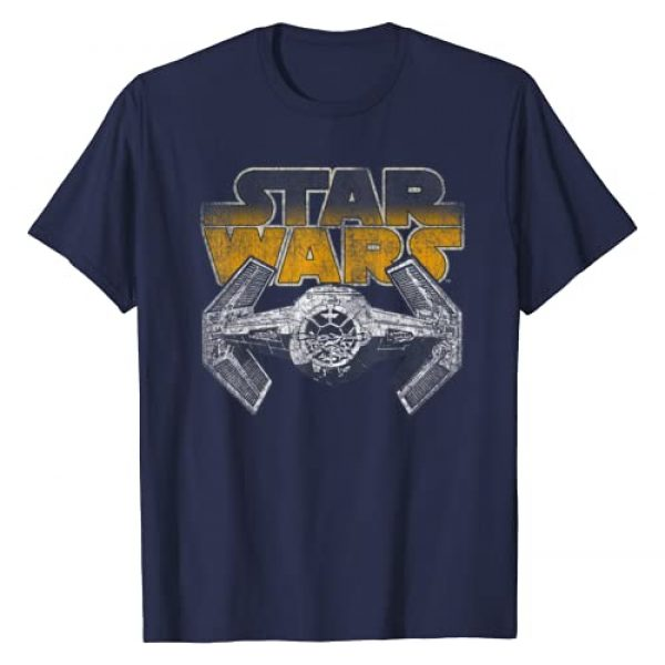 Star Wars Graphic Tshirt 1 Super Retro Tie Fighter Classic Logo T-Shirt
