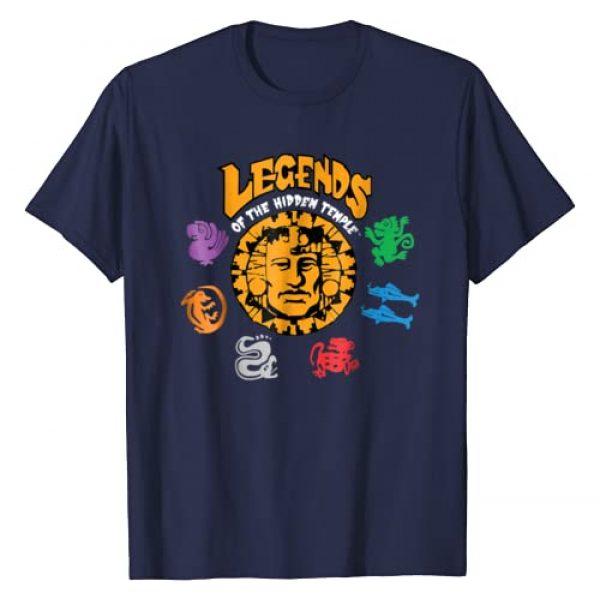 Nickelodeon Graphic Tshirt 1 Legends of the Hidden Temple Logo T-Shirt