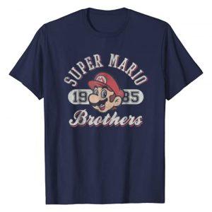 SUPER MARIO Graphic Tshirt 1 Bros 1985 Face Vintage Logo Graphic T-Shirt
