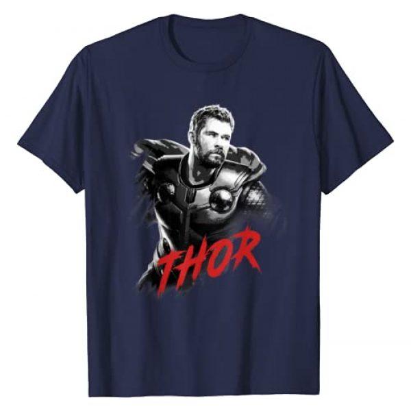Marvel Graphic Tshirt 1 Avengers Endgame Thor Tonal Portrait Graphic T-Shirt