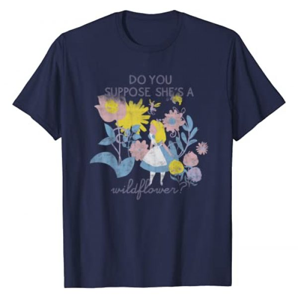 Disney Graphic Tshirt 1 Alice In Wonderland Do You Suppose She's A Wildflower T-Shirt