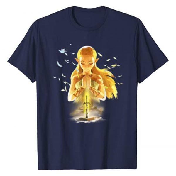 ZELDA Graphic Tshirt 1 Breath Of The Wild Zelda Watercolor Portrait T-Shirt