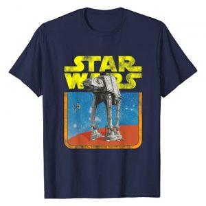 Star Wars Graphic Tshirt 1 AT-AT Walker TIE Fighter Distressed Retro T-Shirt