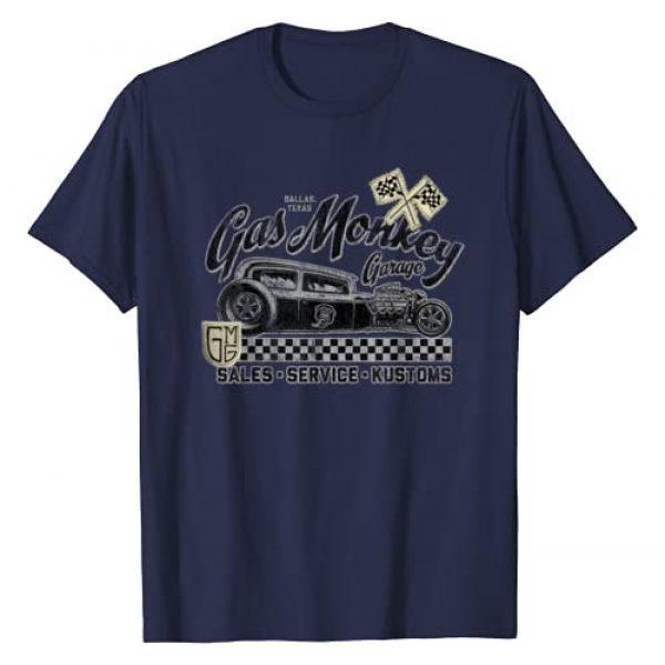 Gas Monkey Garage Graphic Tshirt 1 Vintage Hot Rod Poster T-Shirt