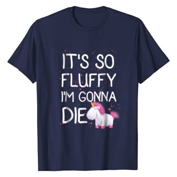 Despicable Me Graphic Tshirt 1 Minions It's So Fluffy Unicorn Graphic T-Shirt