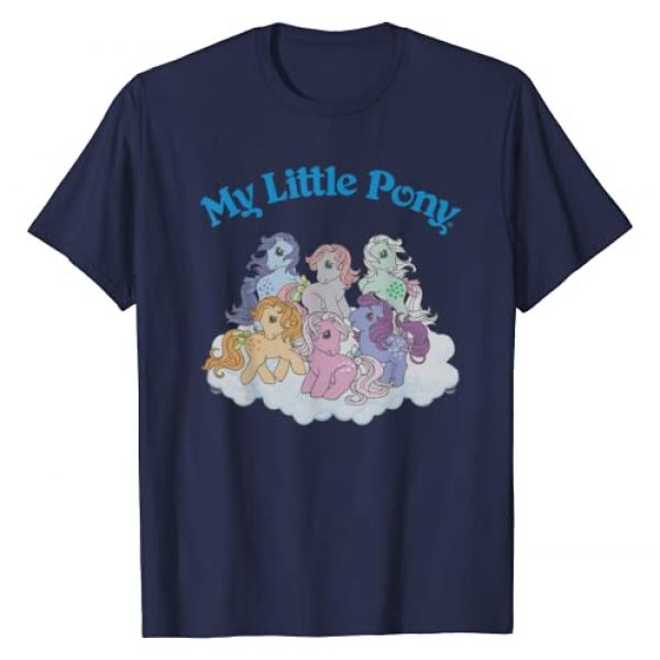 My Little Pony Graphic Tshirt 1 Classic Group Shot T-Shirt