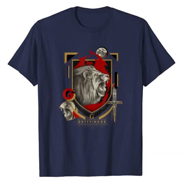 Harry Potter Graphic Tshirt 1 Gryffindor Magicial Mischief Level Up Crest T-Shirt