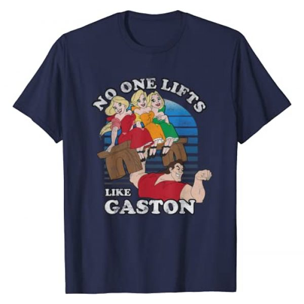 Disney Graphic Tshirt 1 Beauty And The Beast Lifts Like Gaston T-shirt