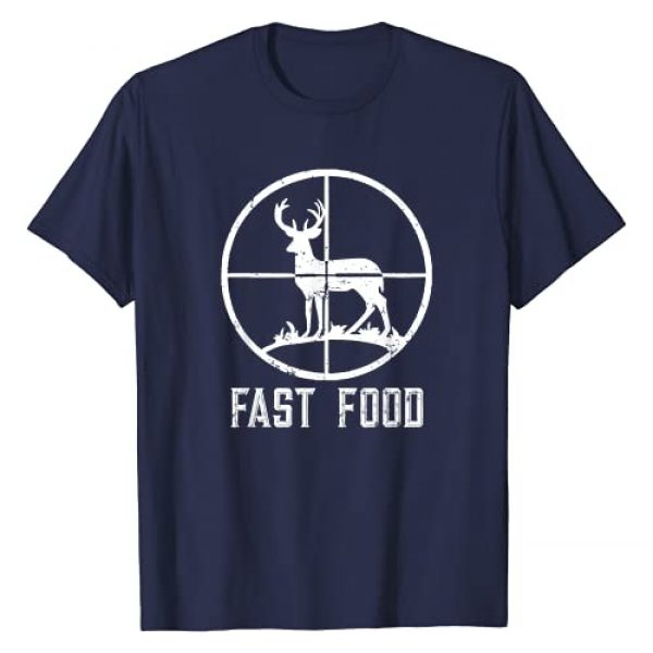 HUNTER Graphic Tshirt 1 Fast Food Deer Hunting T-Shirt Funny Gift For Hunters T-Shirt