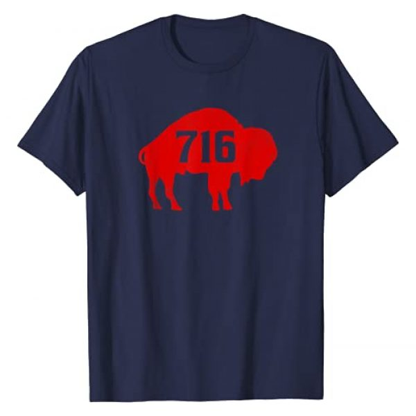 716MafiaCo. Graphic Tshirt 1 Vintage Buffalo Football 716 NY New York Game Day T-Shirt