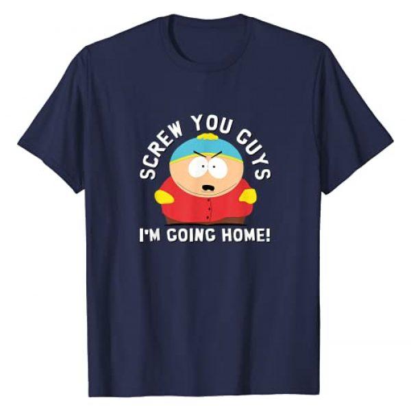 South Park Graphic Tshirt 1 SCREW YOU GUYS I'M GOING HOME T-Shirt
