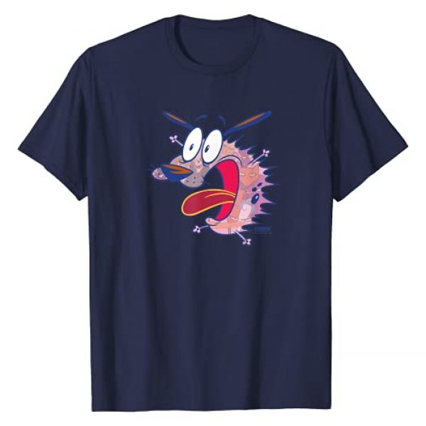 Cartoon Network Graphic Tshirt 1 Courage the Cowardly Dog Evil Inside T-Shirt