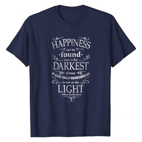 Harry Potter Graphic Tshirt 1 Happiness Quote T-Shirt