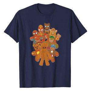 Marvel Graphic Tshirt 1 Avengers Gingerbread Cookies Christmas T-Shirt