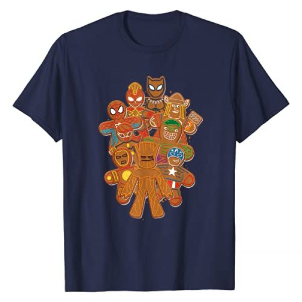 Marvel Graphic Tshirt 1 Avengers Gingerbread Cookies Christmas T-Shirt