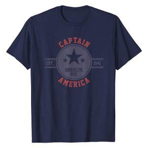 Marvel Graphic Tshirt 1 Captain America Vintage Est.1941 Star Badge T-Shirt T-Shirt