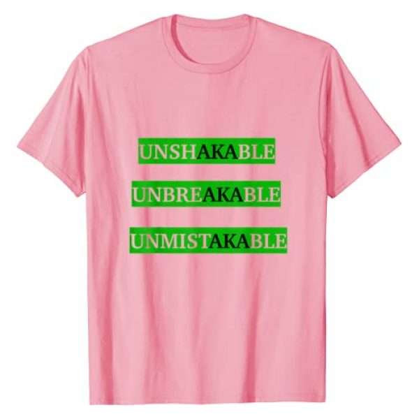 Sorors Love Graphic Tshirt 1 AKA Paraphernalia for soror Pink and green accessories Gift T-Shirt