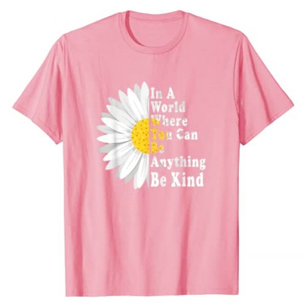 Be Kind Attire Graphic Tshirt 1 Be Kind Choose Kindness Anti Bullying Day TShirt Pink Day T-Shirt