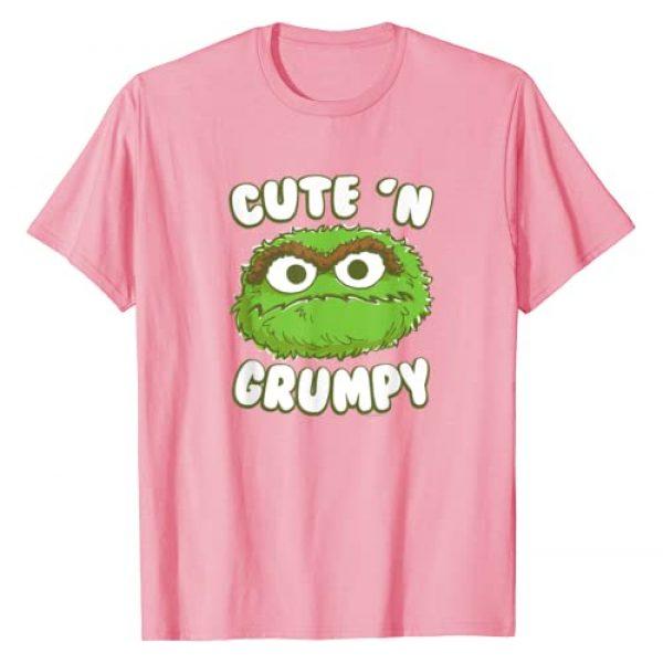 Sesame Street Graphic Tshirt 1 Oscar the Grouch Cute 'n' Grumpy T-Shirt