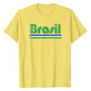Soccer National Tees Graphic Tshirt 1 2020 Brasil Brazil Fan Retro Vintage Flag T-Shirt T-Shirt