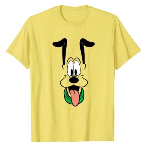 Disney Graphic Tshirt 1 Pluto Big Face Ears Up T-Shirt