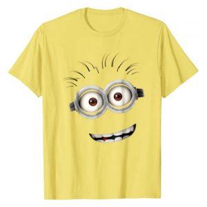 Despicable Me Graphic Tshirt 1 Minions Bob Smiling Face Graphic T-Shirt