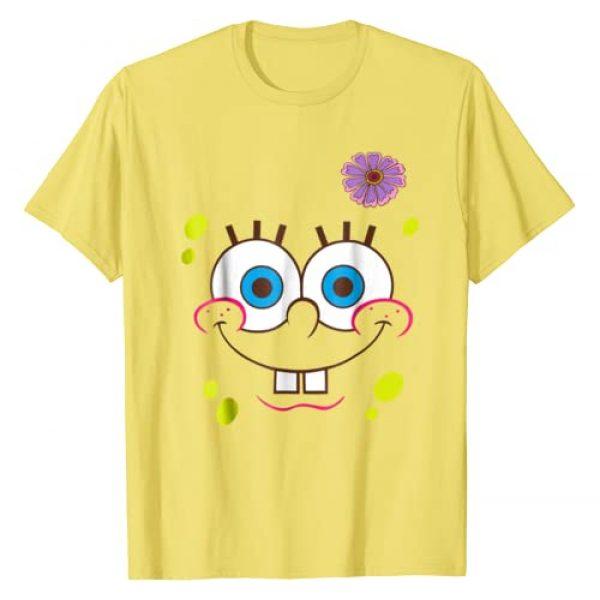 Nickelodeon Graphic Tshirt 1 Spongebob SquarePants Flower Face T-Shirt