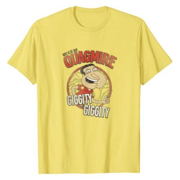 20th Century Fox TV Graphic Tshirt 1 Family Guy Quagmire T-Shirt