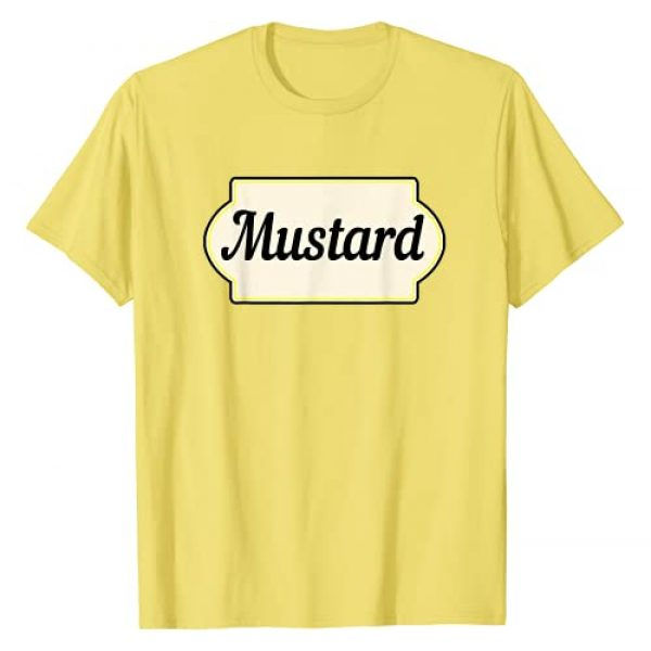 Ketchup & Mustard Easy Halloween Costumes Graphic Tshirt 1 Ketchup & Mustard Easy Halloween Costume Matching Couple T-Shirt