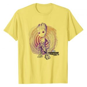 Marvel Graphic Tshirt 1 Guardians Vol. 2 Groot Watercolor Swirl T-Shirt C1 T-Shirt