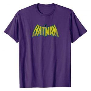 DC Comics Graphic Tshirt 1 Batman Classic Logo Distressed T-Shirt