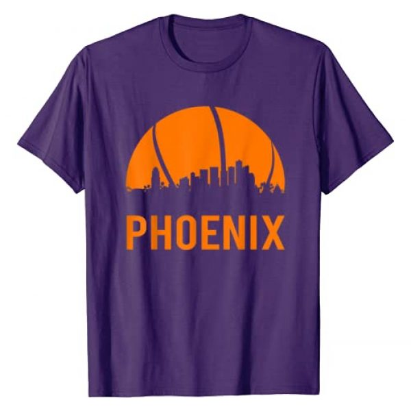 Basketball Tee Gift Graphic Tshirt 1 Phoenix Basketball B-Ball City Arizona State Gifts T-Shirt
