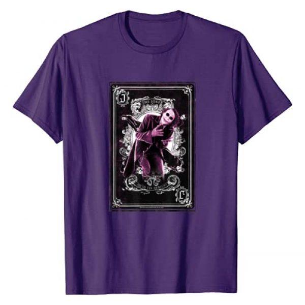 DC Comics Graphic Tshirt 1 Batman Dark Knight Joker Quid Ita Serius T-Shirt