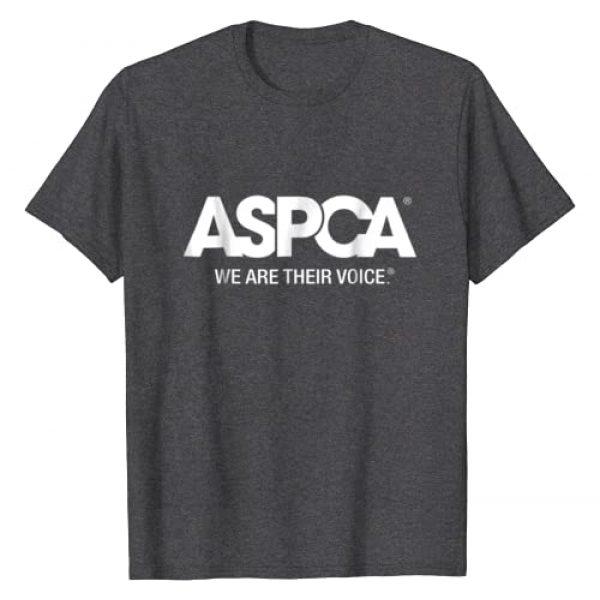 ASPCA Graphic Tshirt 1 We Are Their Voice Logo T-Shirt Heather
